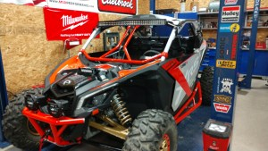 Impressive Intrusion Bars for Can-Am Maverick X3's from DragonFire Racing