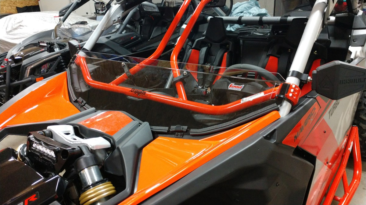 How To: Can-Am X3 Half Windshield With Intrusion Bars