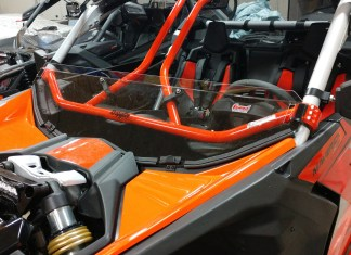 How To: Can Am X3 Half Windshield With Intrusion Bars
