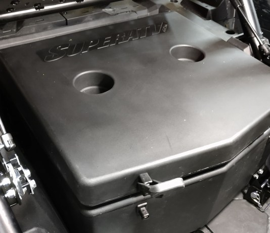 Super ATV Polaris RZR XP Turbo Insulated Cooler Or Cargo Box | 30 Liter | Fits Turbo S Also