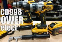 "DEWALT DCD998 Power Detect 1/2"" Hammer Drill/Driver"