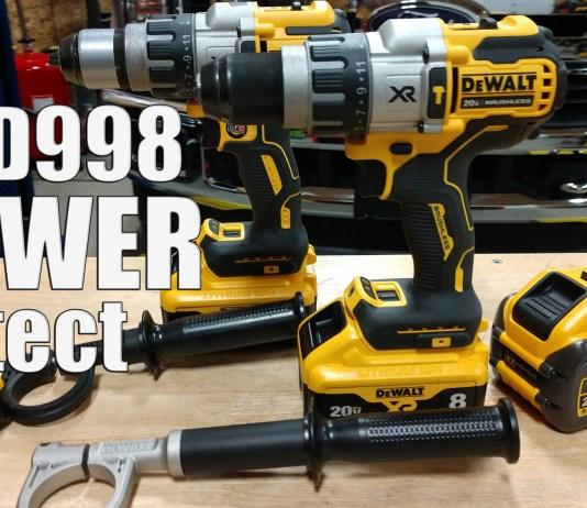 "DEWALT DCD998 Power Detect 1/2"" Hammer Drill/Driver"