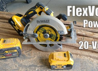 DEWALT 20V XR Brushless 7-1/4-In. Circular Saw with POWER DETECT Review DCS574W1