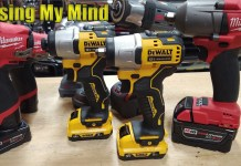 "Small Job Comfort | DEWALT 12-Volt XTREME Brushless Sub-Compact 3/8"" Impact Wrench DCF902 DCF801"