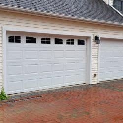 Garage Door Window Decals