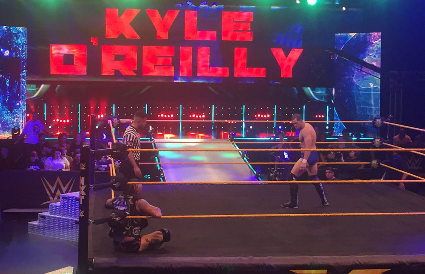 Image result for Kyle O'Reilly Makes NXT Debut