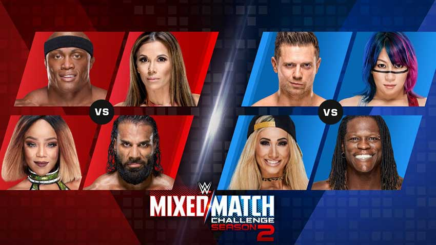 Image result for wwe mixed match challenge season 2 week 2