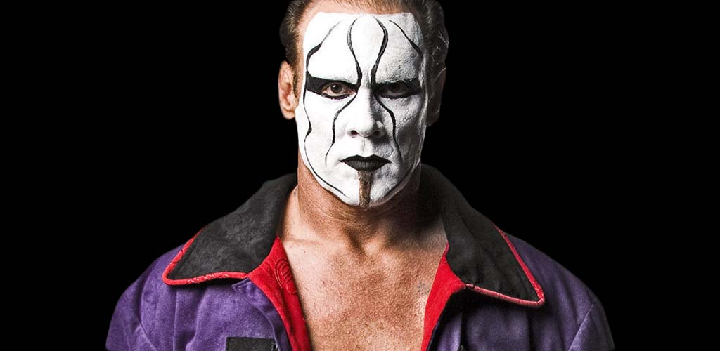 Footage of Sting being inducted to the TNA Hall of Fame