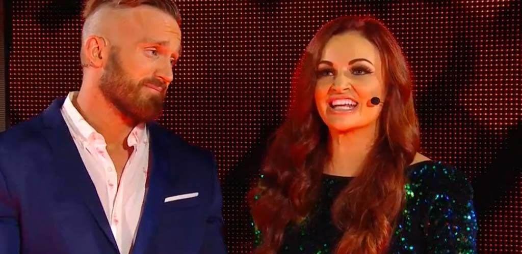 Mike and Maria Kanellis debut on 205 Live tonight