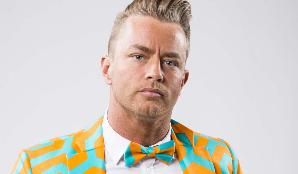 Rockstar Spud debuts on 205 Live as the new General Manager