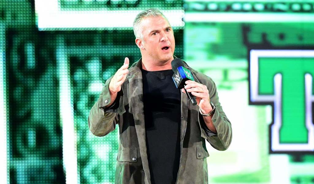 Shane McMahon does his own motion capturing for WWE 2K18