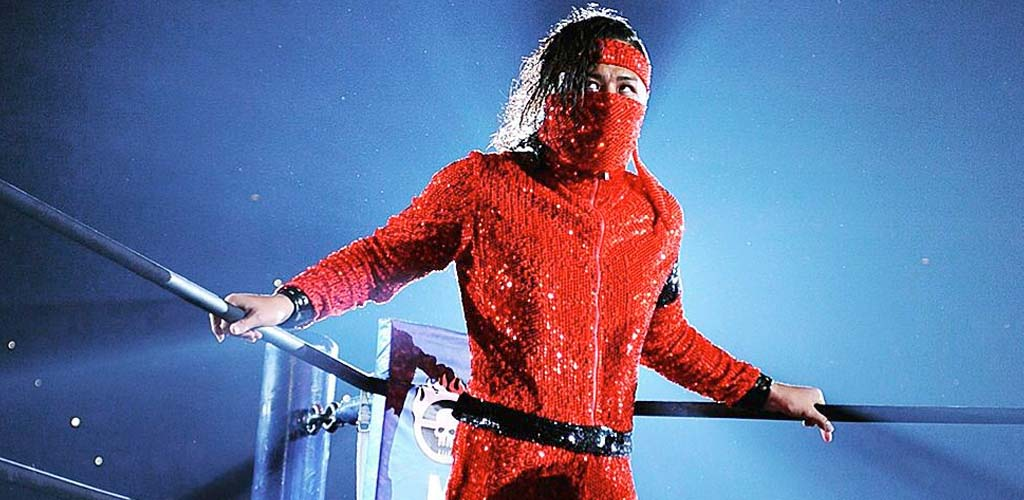 Shinsuke Nakamura says goodbye to New Japan Pro Wrestling