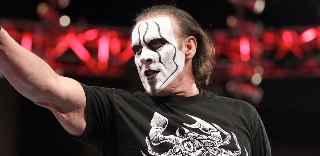 Sting appears on ESPN SportsCenter with Jonathan Coachman