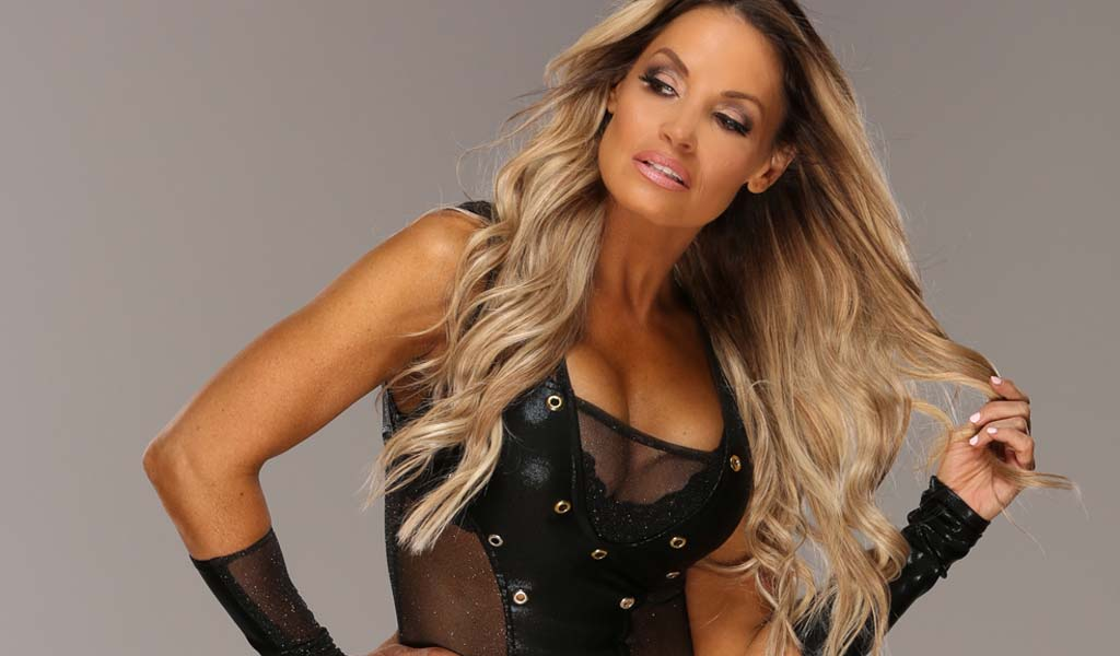 Trish Stratus stepping back in the ring at SummerSlam to take on Charlotte Flair