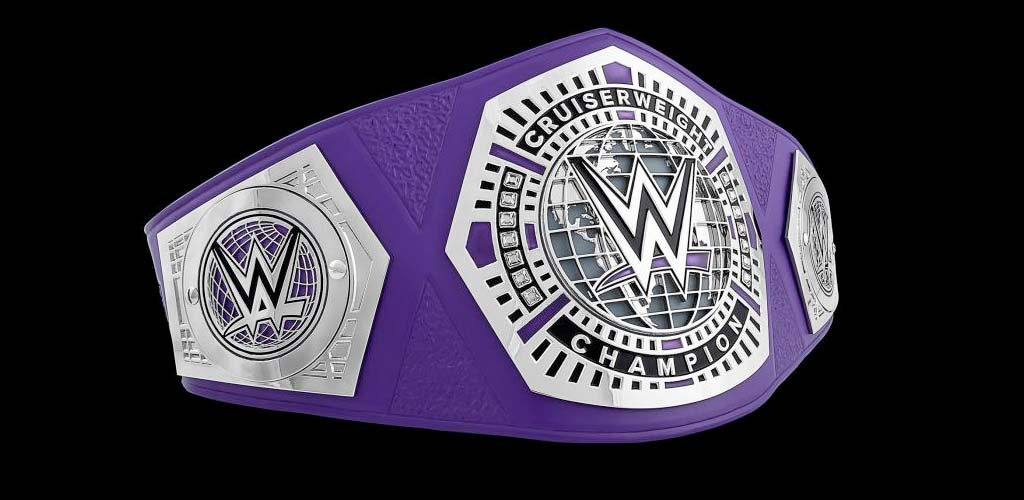 Cruiserweight title now referred to as the NXT Cruiserweight championship