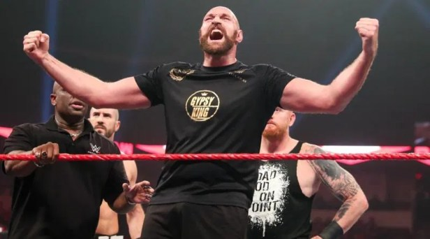 Tyson Fury on having another match in WWE
