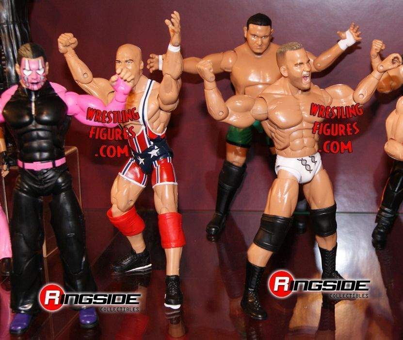 Jeff Hardy, Kurt Angle, Samoa Joe & Matt Morgan