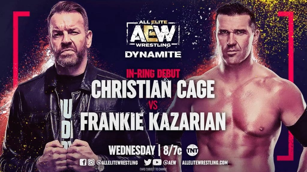 Christian Cage Makes His AEW In-Ring Debut