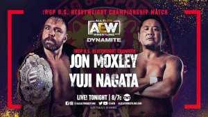 Yuji Nagata Vs. Jon Moxley Original Plans, Nagata & Moxley On Tonight's AEW Dynamite Match