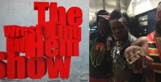 the new day - wrestling mayhem show