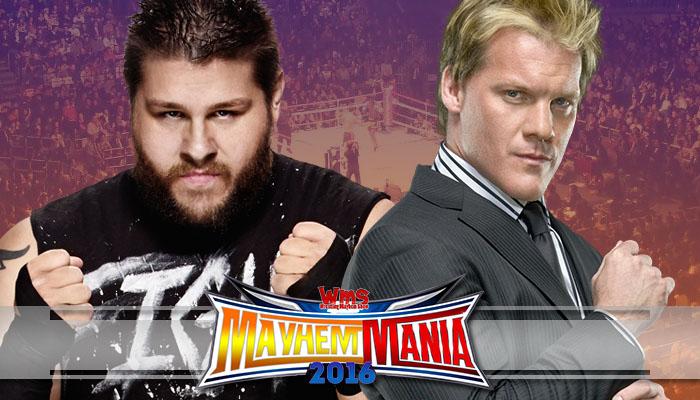 Kevin Owens vs. Chris Jericho (in a suit)