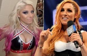 Becky Lynch vs Alexa Bliss WWE star