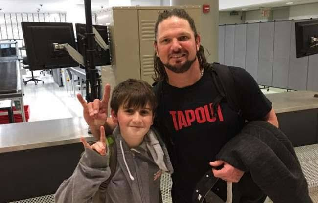 AJ Styles and Nick