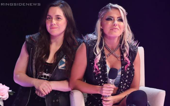 Alexa Bliss and Nikki Cross