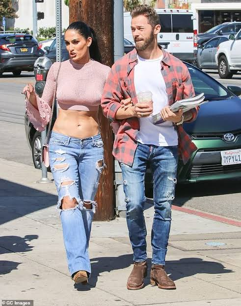 Nikki Bella and Artem Chigvintsev Relationship photo