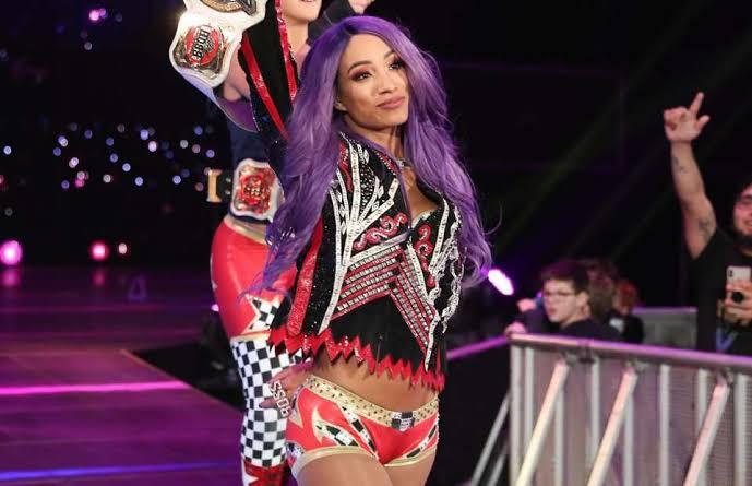 Sasha Banks gets new look