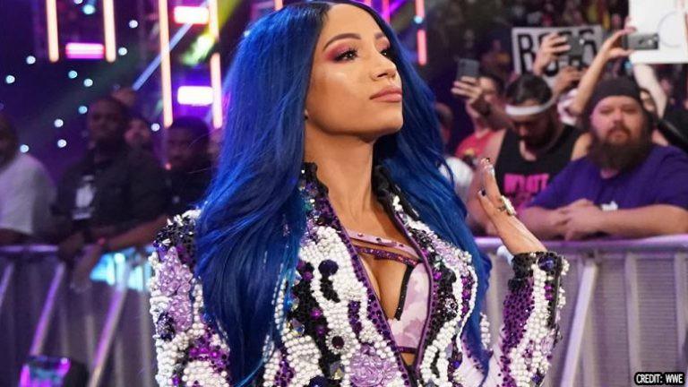 Sasha Banks new look 2019