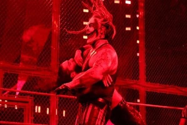 Seth Rollins vs Bray Wyatt Hell In A Cell in jury