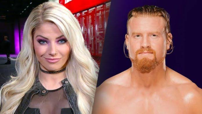 Alexa Bliss ended relationship with Buddy Murphy