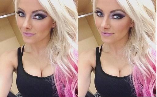 Alexa Bliss boobs