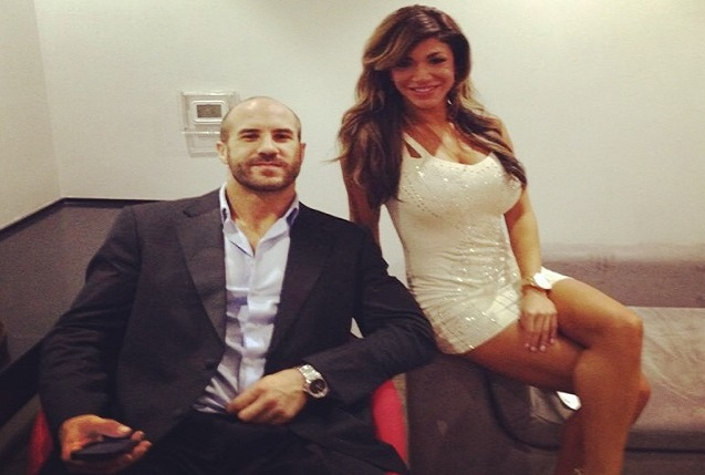 Antonio Cesaro backstage dating