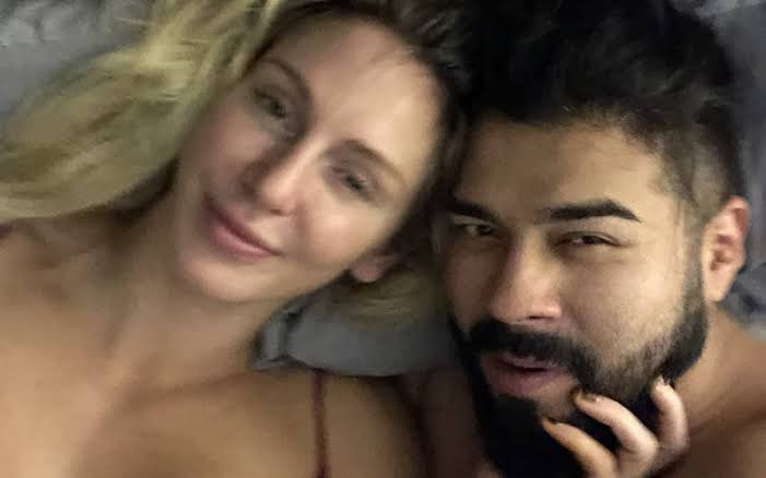Charlotte Flair and Andrade love and engagement photo