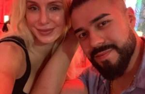 Charlotte Flair and Andrade