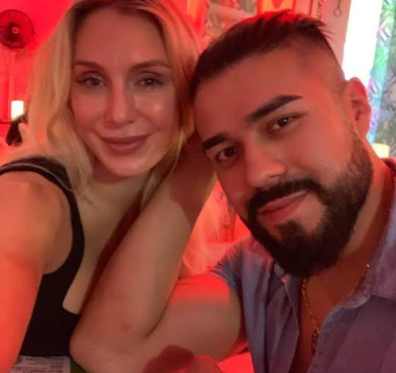 Charlotte Flair and Andrade
