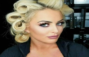 Mandy Rose beautiful hair photo