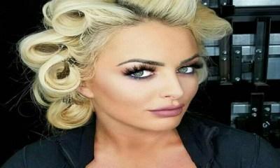 Mandy Rose beautiful hair photo