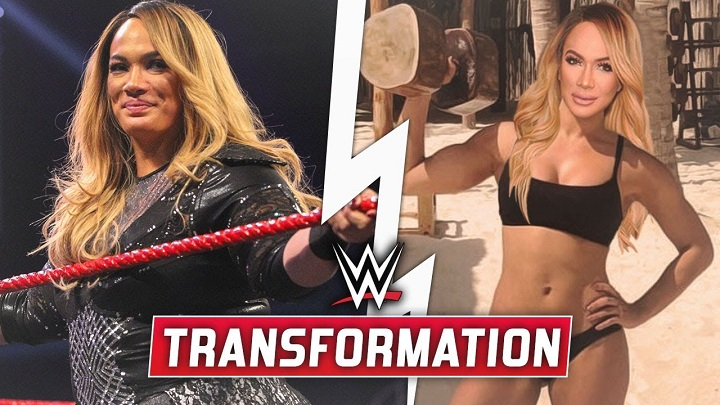 Nia Jax body Transformation