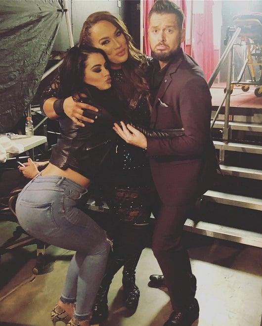Paige, Nia Jax, Mike Rome