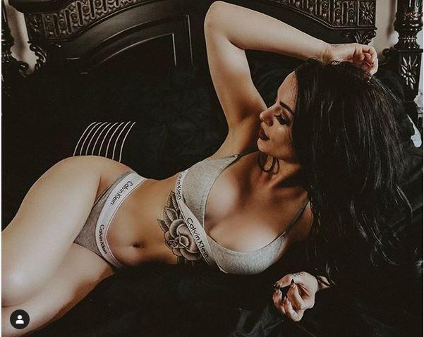 Paige WWE Star