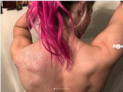 Alexa Bliss new tatoo