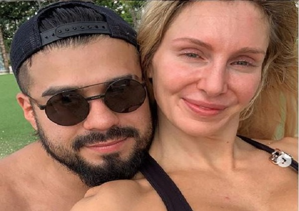 Charlotte Flair and Andrade engagement
