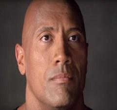 Dwayne The Rock Johnson cries