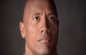 Dwayne The Rock Johnson cries