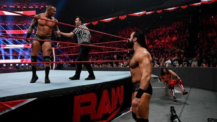 Randy Orton vs AJ Styles vs Drew McIntyre