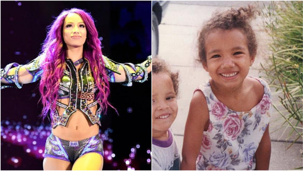 Sasha Banks Childhood Story