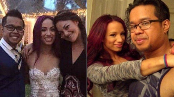 Sasha Banks hid her marriage from 'crazy' fans